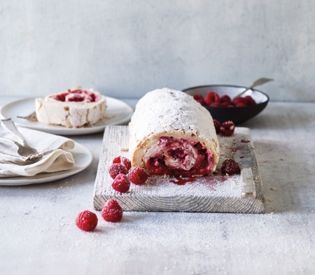 COOK Raspberry Pavlova at Farmer Copleys Farm Shop