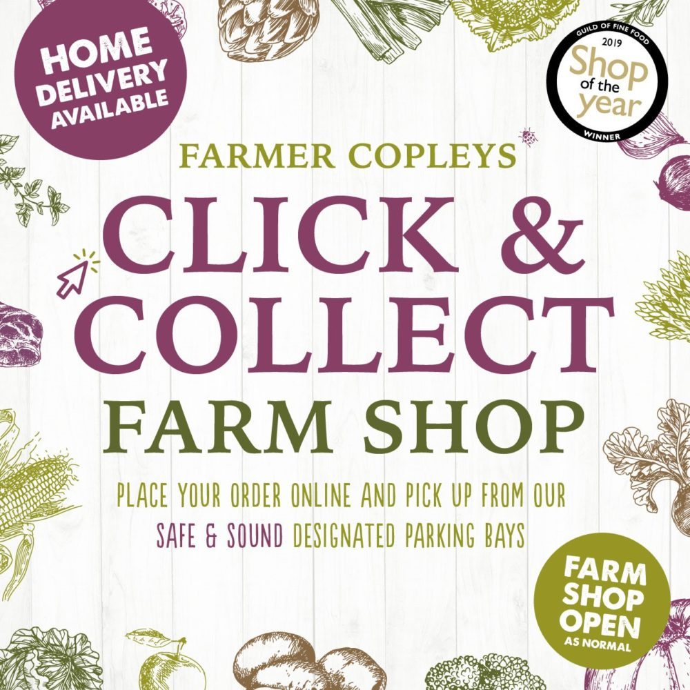 The Click and Collect Online Shop at Farmer Copleys